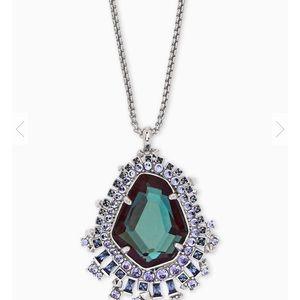 NWOT Kendra Scott Daenerys Silver Pendant necklace